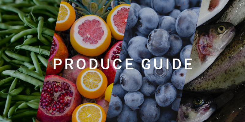spring produce guide October