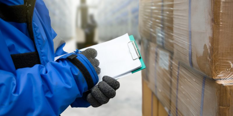 work safely cold storage