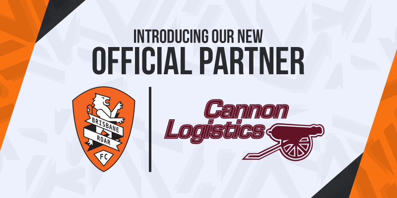 cannon logistics brisbane roar partner