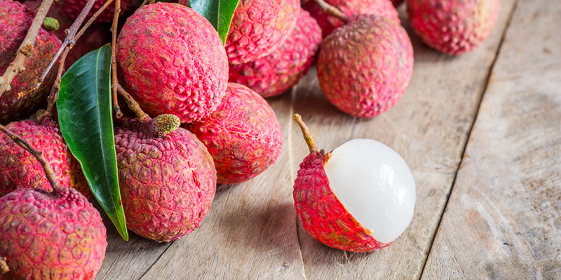 spotlight on lychees