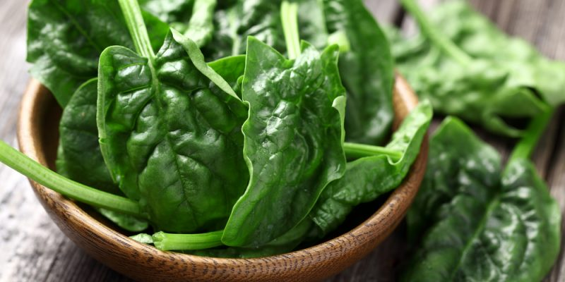 health benefits spinach